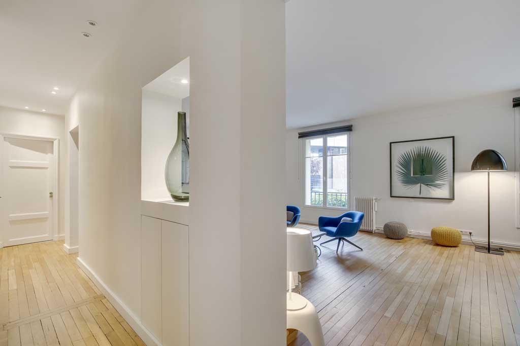 NEUILLY SUR SEINE - Rénovation & Architecture d'intérieur à Paris